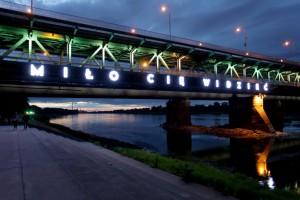 Nowa wizytówka stolicy rozświetlona