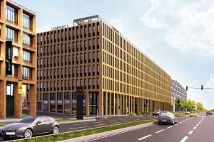Biurowy kompleks River Garden w Pradze już gotowy