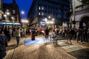 Łódź: powstał tzw. woonerf, czyli ulica-podwórzec