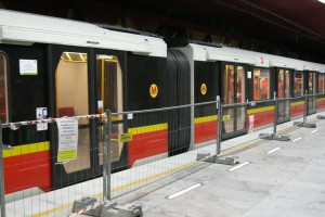 II linia metra: przejazdy testowe i plany oddania na 30.09 br.