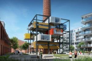 """Praska fabryka po rewitalizacji zmieni się w projekt """"Nova Praga New City"""""""