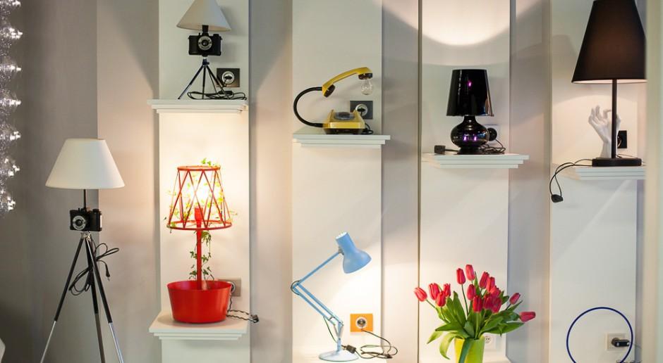 Wyjątkowy showroom Luminosfera z niezwykłym oświetleniem