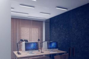 """Biuro w stylistyce """"offowej"""" spod kreski Osom"""