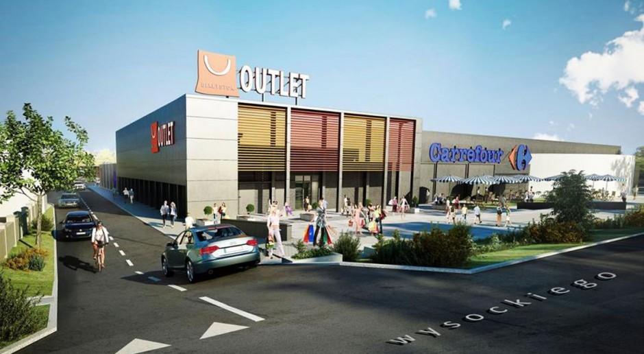 Na terenie Outletu Białystok rozpoczęły się prace budowlane