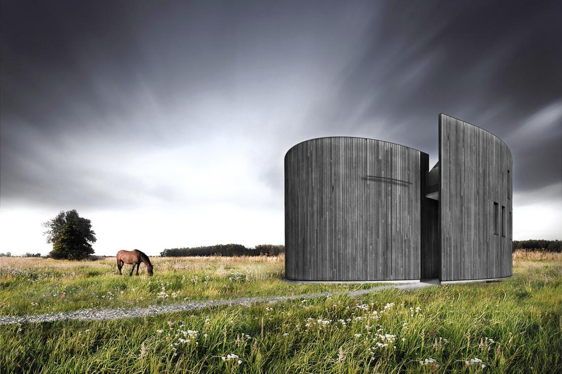 Współczesna architektura sakralna według pracowni Plus3 Architekci
