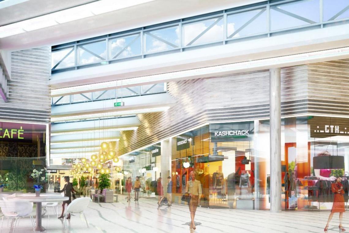 Rozbudowa CH Auchan Gdańsk według Tremend na finiszu