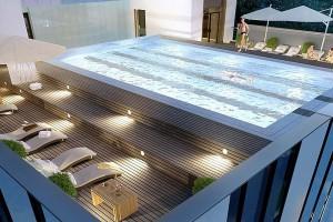 Wrocław: innowacyjny biurowiec z basenem na dachu