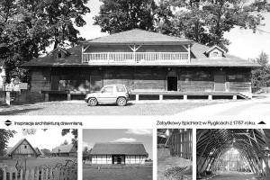 Kreatywnie zainspirowani architekturą tradycyjną, czyli Stodoła Spotkań