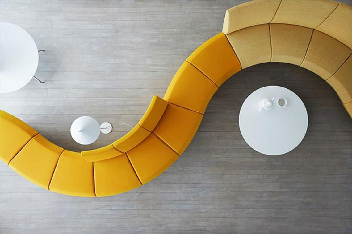 Sofa, której nadasz własny kształt od designera Stefana Borseliusa