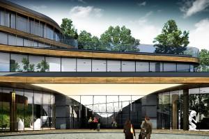 Drugi etap hotelu Sun & Snow Resorts w Szklarskiej Porębie z wiechą