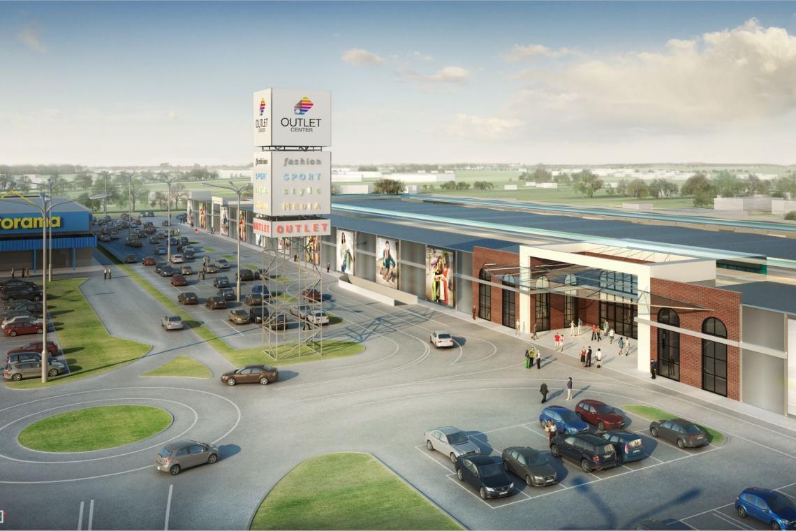 W sierpniu rozpoczęcie budowy Outlet Center Białystok