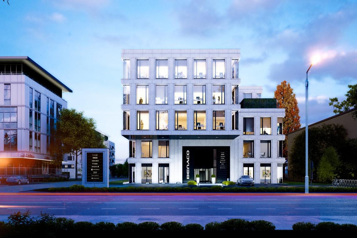 Biurowiec Benaco to nowa inwestycja w Krakowie