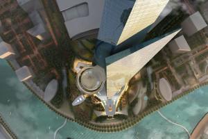 Najwyższy budynek świata, dzięki 80 tys. ton stali