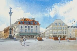 Biurowiec Plac Zamkowy to dobra architektura - twierdzą warszawiacy