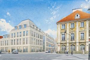 O inwestycji Plac Zamkowy opowiada Maksymilian Marcinkowski, Senatorska Investment