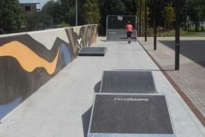 Galeria Bronowice ze skateparkiem od Techramps