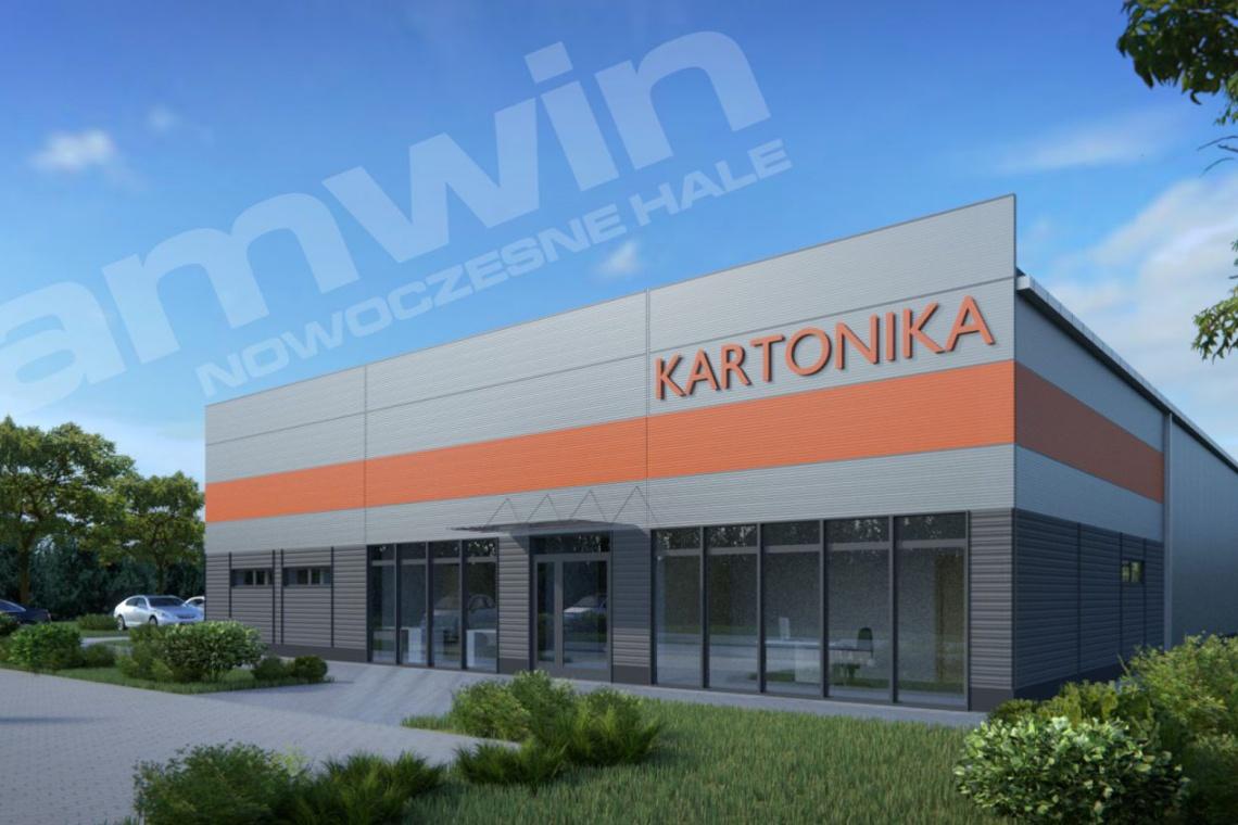 Amwin pracuje w systemie projektuj i buduj dla Kartoniki