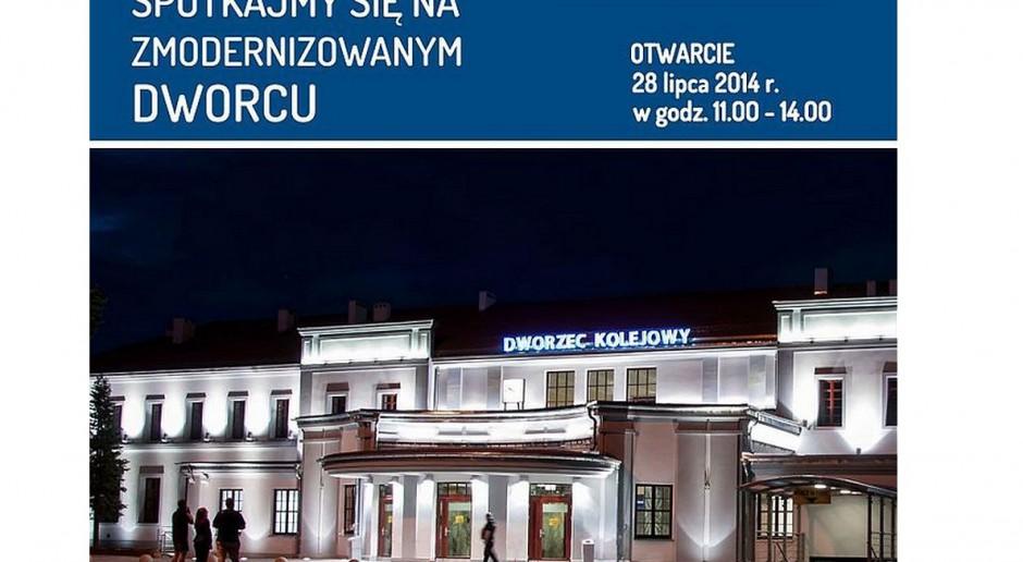 Zabytkowy dworzec w Ełku zyskał nową jakość