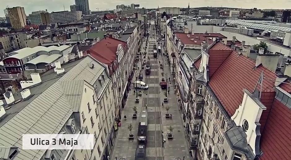 Zobacz jak zmieniają się Katowice - wideo