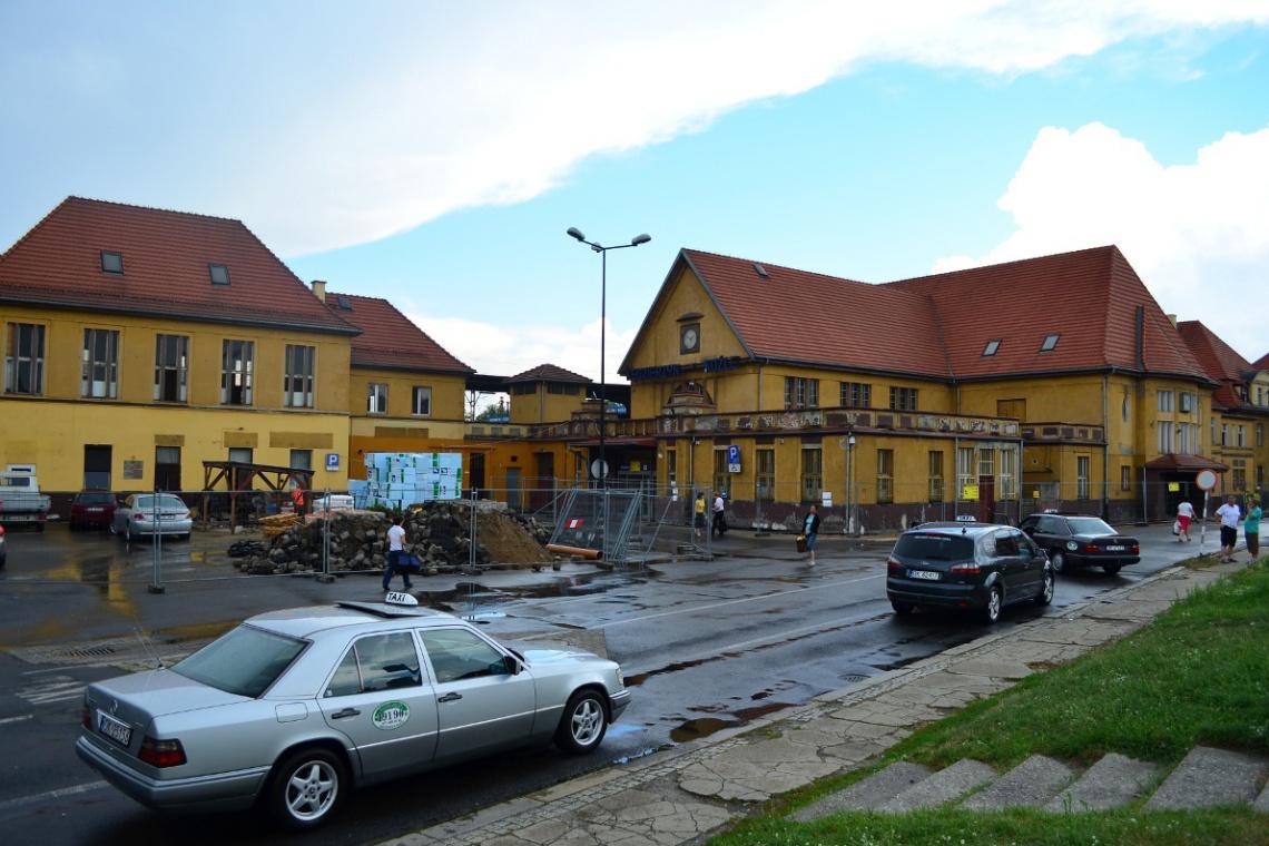 Trwa przebudowa dworca w Kędzierzynie-Koźlu