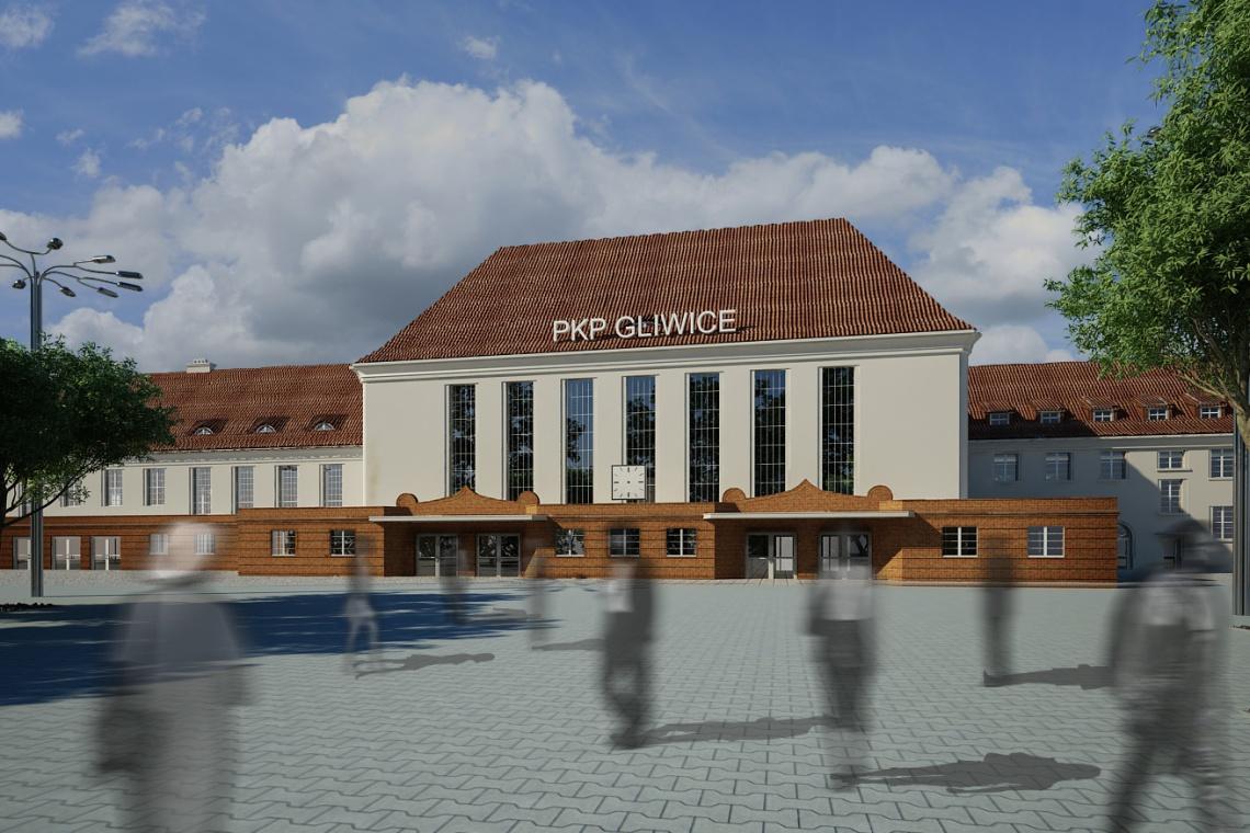 Pięć ofert wartych 136-235 mln zł na przebudowę dworca w Gliwicach