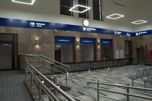 Dworzec w Ełku - pasażerowie korzystają już z nowych przestrzeni
