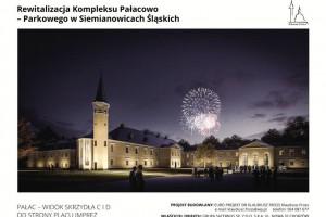 Pałac Donnersmarcków w Siemianowicach będzie zjawiskowy
