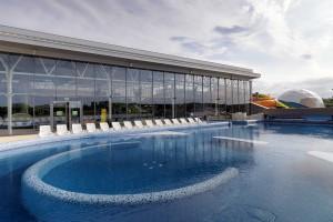 Szklana architektura obiektów sportowych
