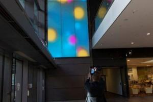 Największa na świecie tekstylna instalacja oświetleniowa