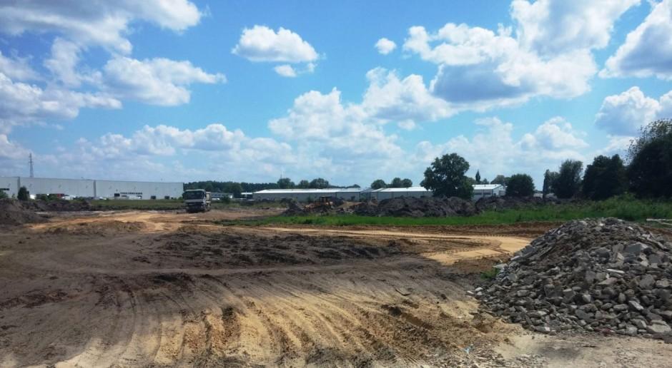 Budowa North-West Logistic Park zgodnie z planem