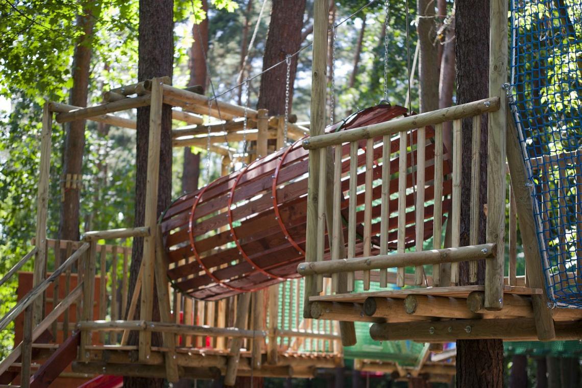 Aktywnie nad Wkrą, dzięki inwestycjom w parki dla małych i dużych