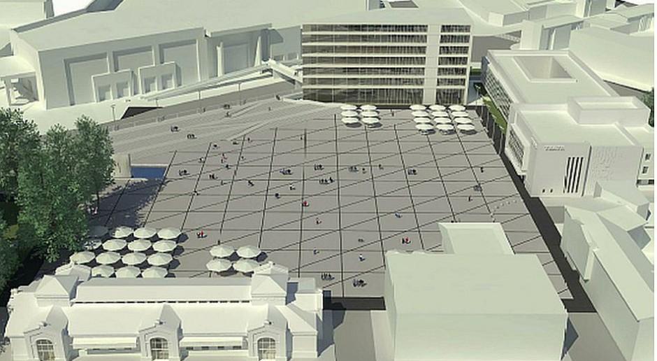 Na konkurs wpłynęło 13 prac, zobacz jak mógłby wyglądać Plac Jagielloński