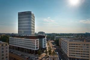 Budynek nowoczesny to budynek ekologiczny, taki jak Plac Unii