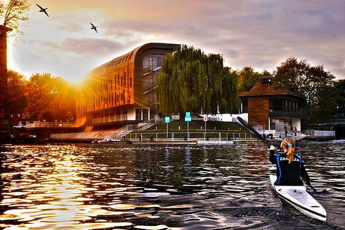 Najpiękniejszym budynkiem w Polsce jest Przystań Bydgoszcz