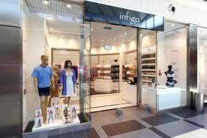 Butik Infigo w stylu retro od Forbis Group