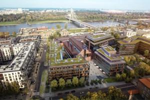 EC Powiśle - to nowa nazwa kompleksu projektu APA Wojciechowski