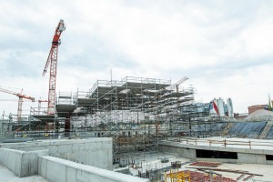 Dworzec Łódź Fabryczna pnie się szybko w górę