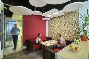 Biuro Grupy Saint-Gobain jest komfortowe i integruje pracowników