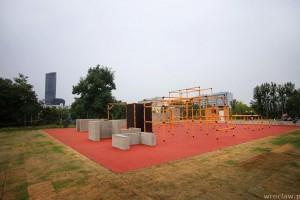 Pierwsze miejsce we Wrocławiu przeznaczone pod parkour
