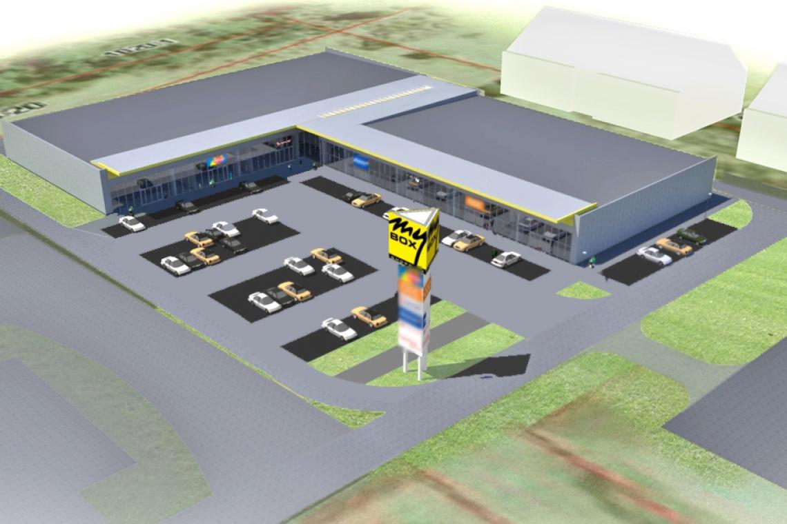 Budowa Mybox Namysłów od Mańczak Studio zgodnie z planem