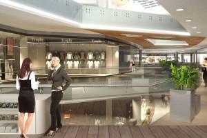 Wnętrza Galerii Kabaty będą jasne i minimalistycznie