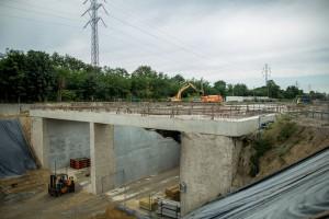 Prace postępują na budowie dworca Łódź Fabryczna