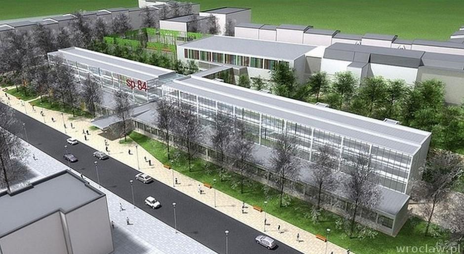 Nowa szkoła podstawowa we Wrocławiu dla 1000 osób