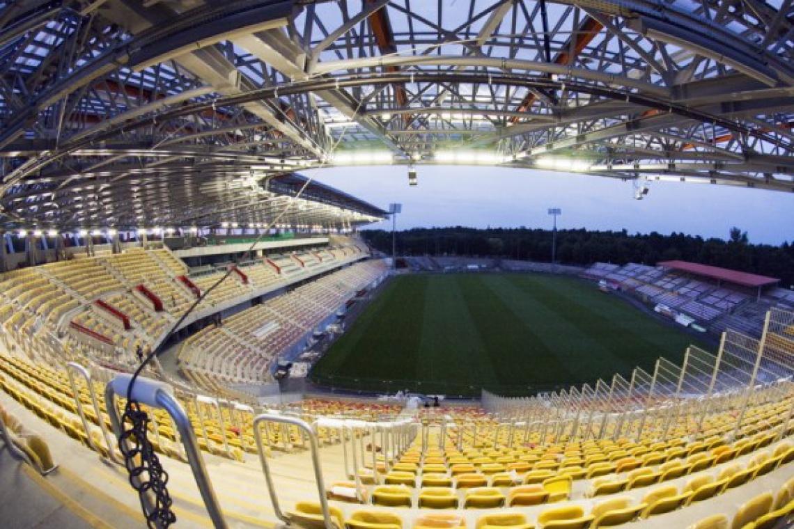 Stadion w Białymstoku jest już gotowy