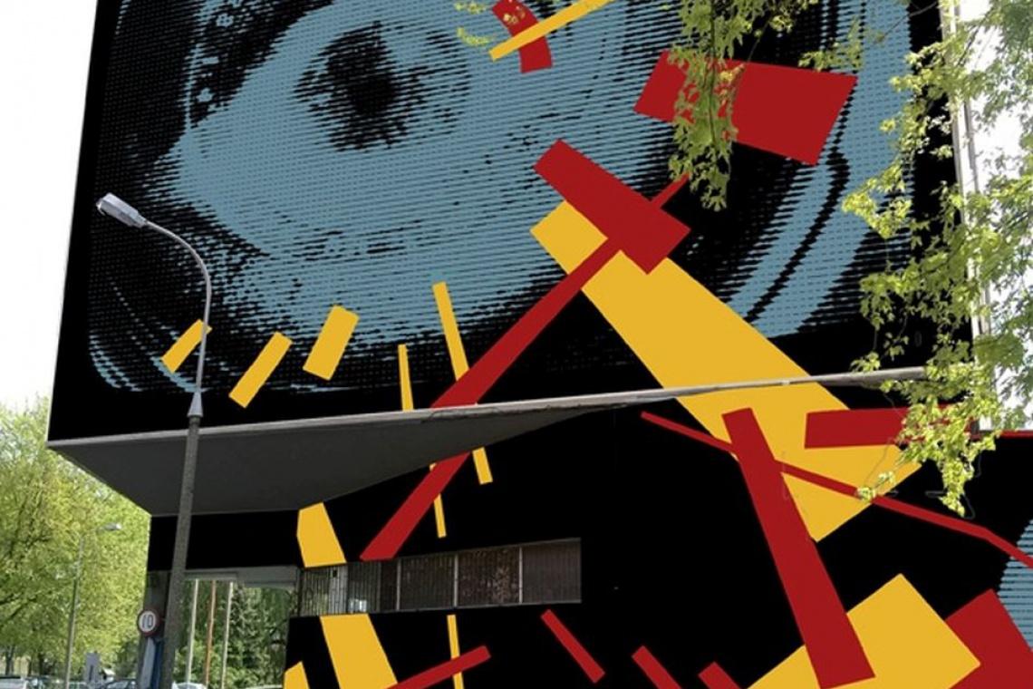 Kino Elektronik odżyje. Filmowe murale już zdobią jego ściany