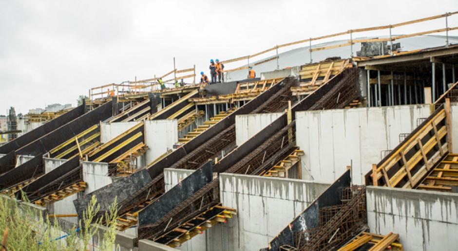 Budowa stadionu w Łodzi zgodnie z harmonogramem