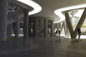 Futuwawa: Niezwykłe, futurystyczne projekty dla Warszawy - wysokościowiec bioniczny