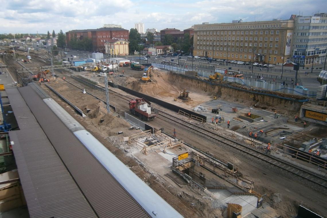 Dworzec w Bydgoszczy: dziś wmurowano kamień węgielny