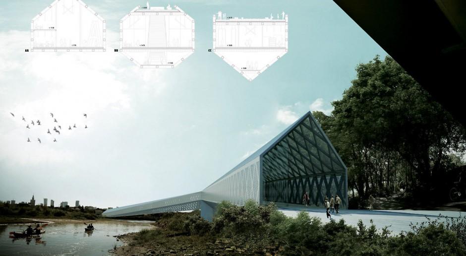 Most Pieszy na Wiśle? Miastotwórczy projekt w konkursie Futuwawa