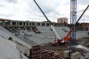 Zobacz jak rośnie stadion GKS Tychy - DUŻO ZDJĘĆ